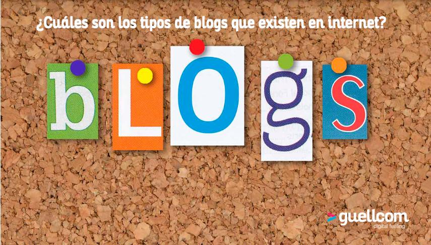 ¿Cuáles son los tipos de blogs que existen en Internet?