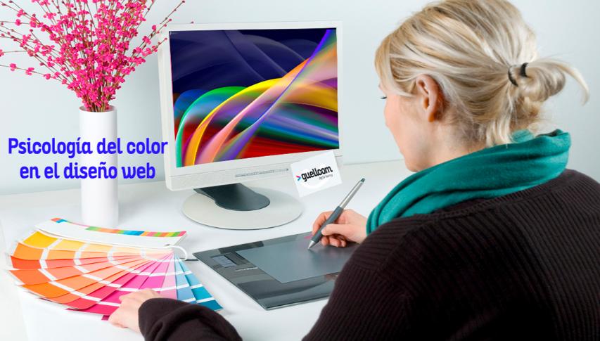 Psicología del color en el diseño web