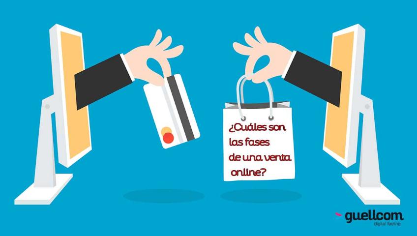 ¿Cuáles son las fases de una venta online?