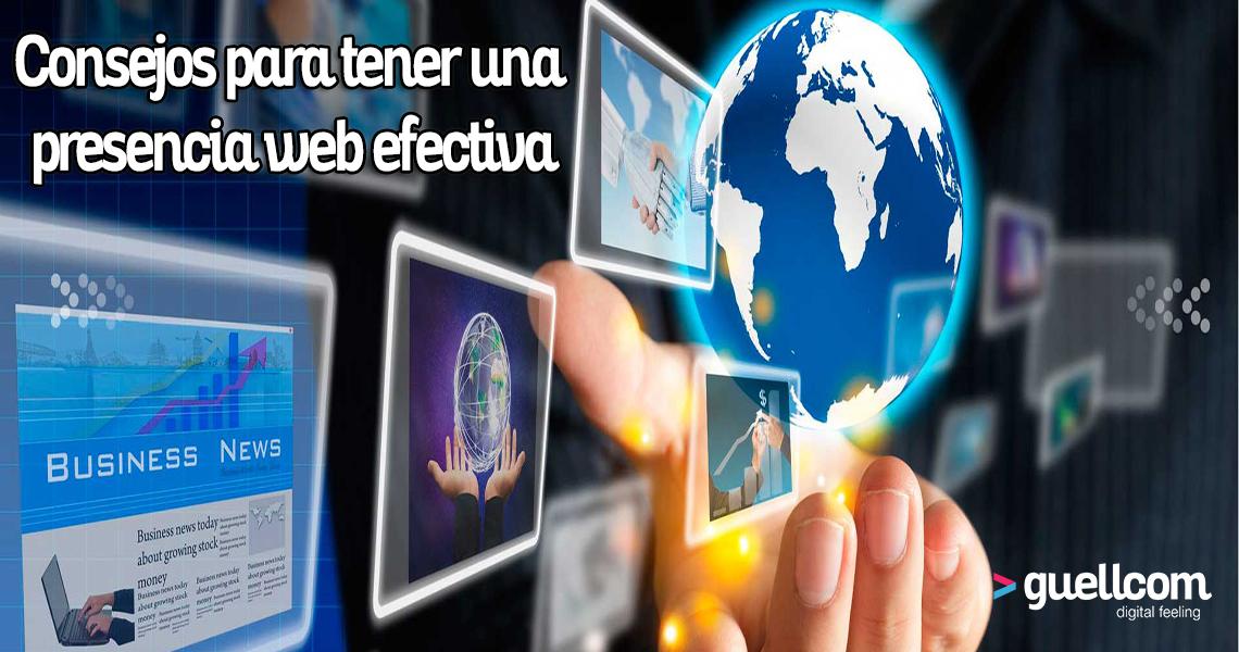 consejos para tener una presencia web efectiva