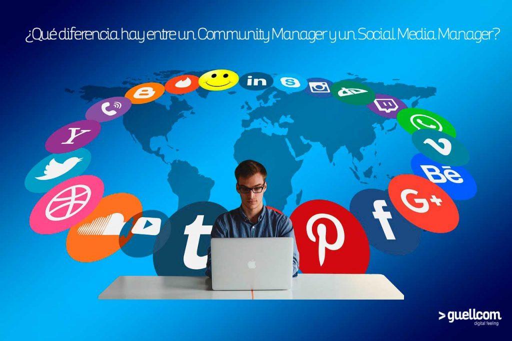 ¿Qué diferencia hay entre un Community Manager y un Social Media Manager?